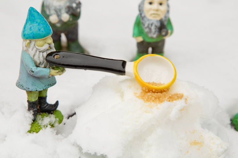 Add Sugar to the Snow