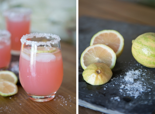 Pink Lemon Margarita