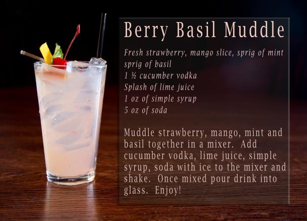 Berry Basil Muddle Recipe