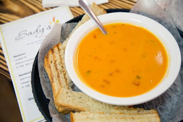 Tomato Soup Sady's Bistro
