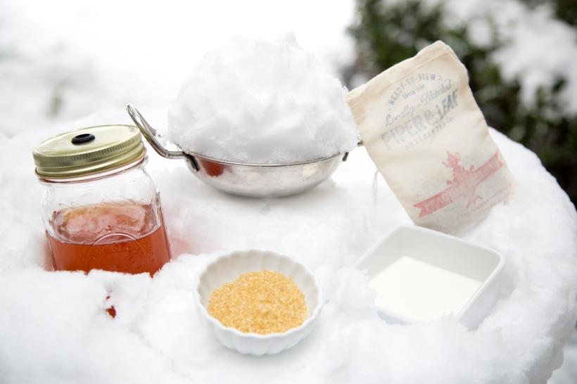 Sweet Tea Snow Cream