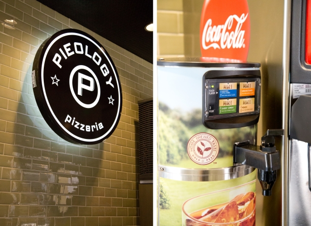 Drink Station at Pieology