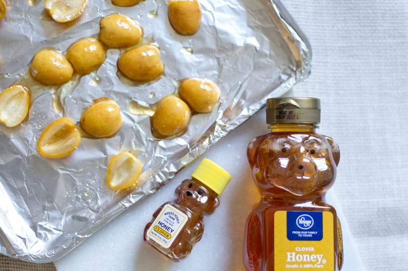 Honey roasted dates