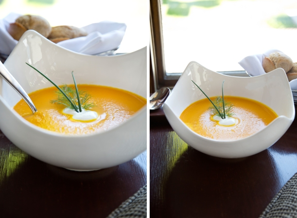 Heirloom Carrot and Ginger Soup